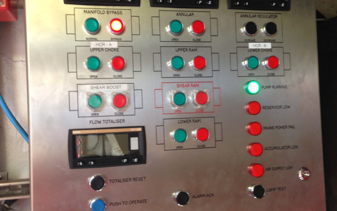 BOP Control System Designed, Manufactured & Installed in 5 Weeks!