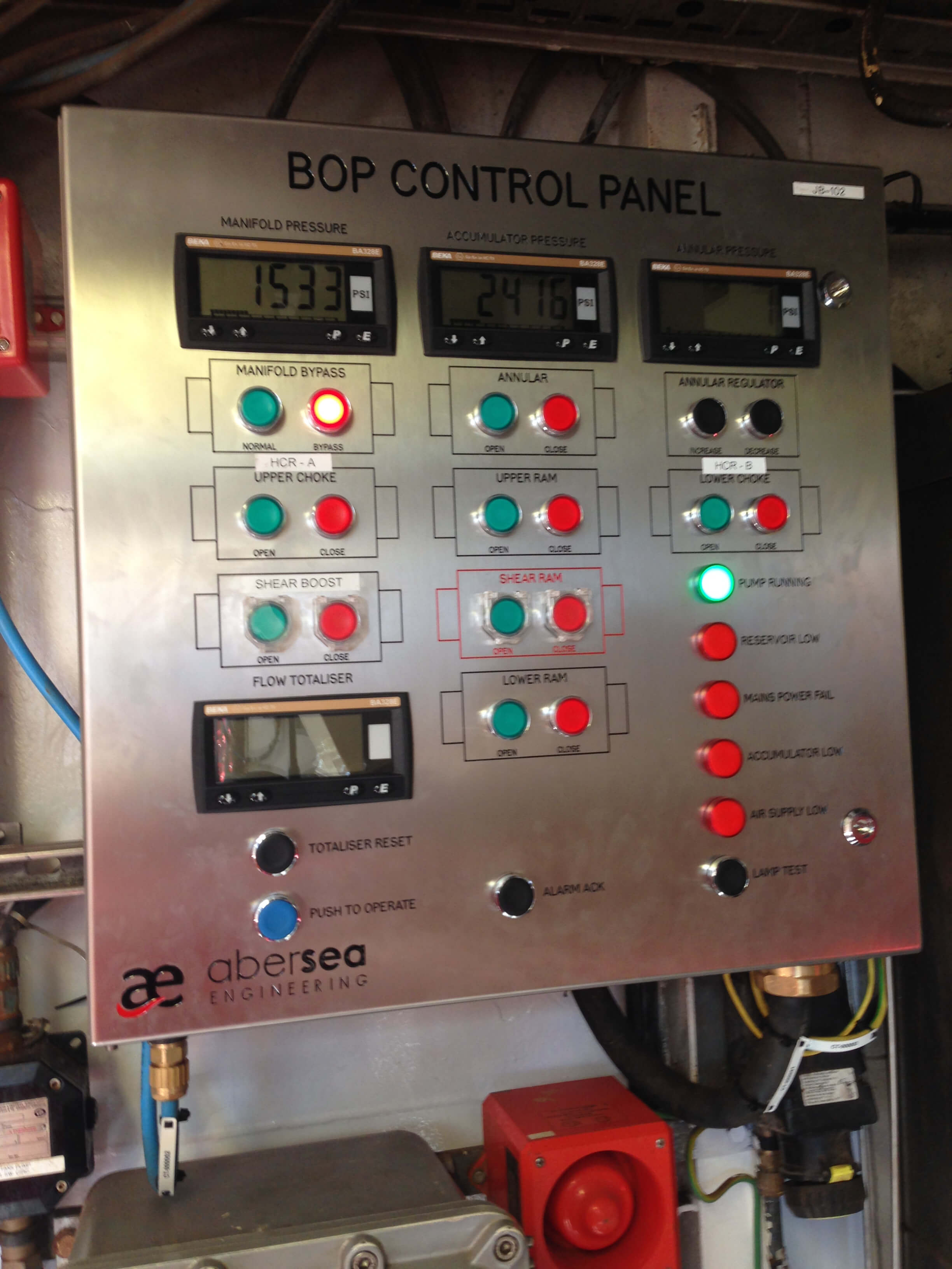 BOP Control System Designed, Manufactured & Installed in 5 Weeks ...