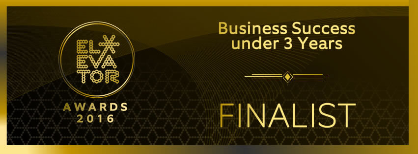 Elevator Awards – Business Success Under 3 Years Finalist