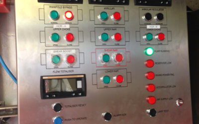 BOP Control System Designed, Manufactured & Installed in 5 Weeks!