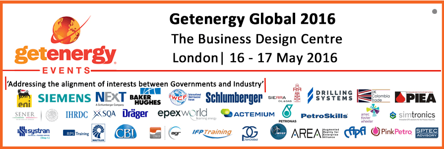 """Raisepower are exhibiting at the """"Getenergy Global 2016"""" Event"""